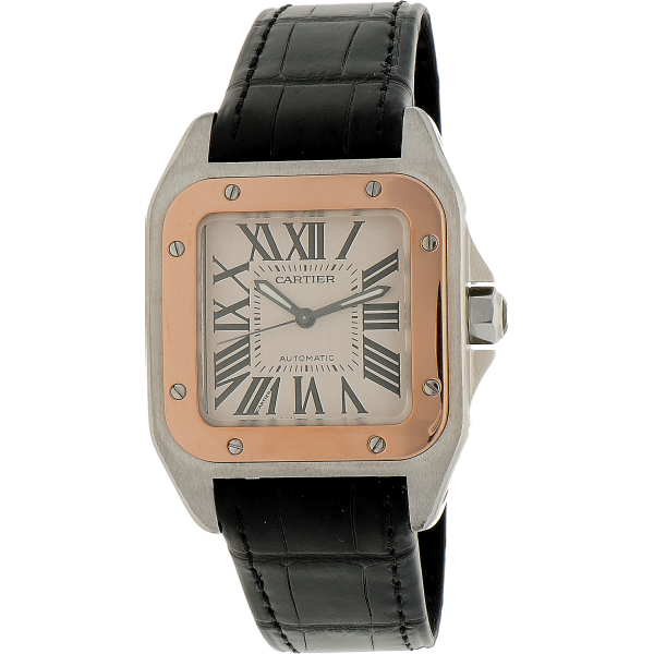 Cartier Santos 100 Mid-Size ref. 2878 (box & papers)