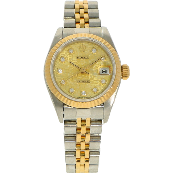 "Rolex DateJust ""Jubilee dial"" ref. 69173 (Full Set 1996)"